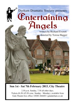 A5 flyer of Entertaining Angels